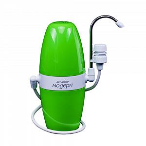 Аквафор Модерн-1 (зеленый) настольный фильтр