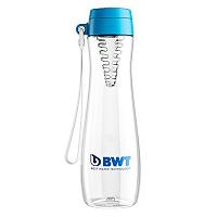 Бутылка BWT для воды голубая со вставкой