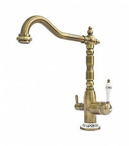 Fabiano FKM 31.4 Brass Antique смеситель комбинированный