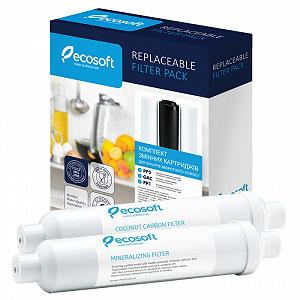 Ecosoft комплект (PP5-GAC-PP1 + Постфильтр + Минерализатор)