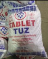 Таблетированная соль 25 кг (Турция)