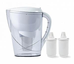 Гейзер Корус белый фильтр-кувшин (2 картриджа)