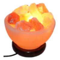 Соляная лампа - ваза фрукты
