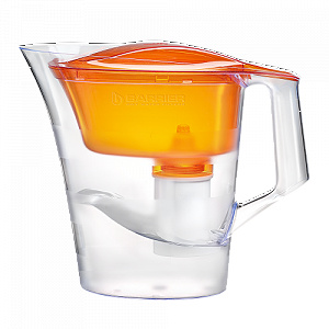 Барьер Твист оранжевый фильтр-кувшин
